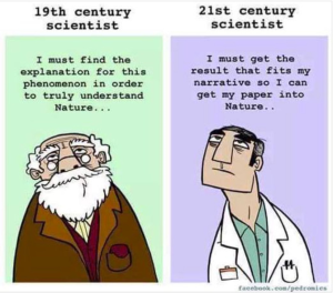 Science then and now